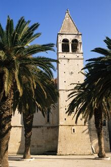 Monastery tower, Trogir, Croatia, Europe