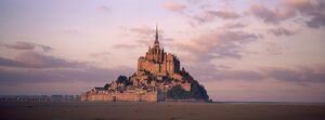 Mont Saint Michel (Mont St.-Michel), UNESCO World Heritage Site, Manche