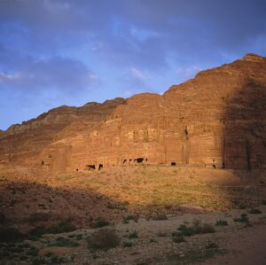 Nabatean Palace Tomb and Corinthian Tomb