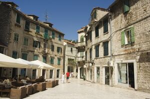 Old Town, Split, Dalmatia, Croatia, Europe