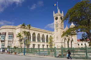 Parliament Buildings, Bridgetown, Barbados, West Indies, Caribbean, Central America