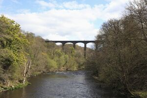 Pontcysyllte Aqueduct, UNESCO World Heritage Site, Llangollen, Dee Valley, Denbighshire, North Wales, Wales, United Kingdom, Europe