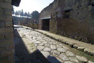 The ruins of Herculaneum