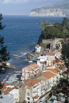 The seaside town of Sorrento