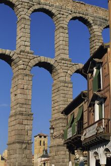 A section of the Roman Aqueduct at Segovia