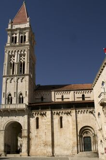 St. Lawrence cathedral, Trogir, Dalmatia, Croatia, Europe