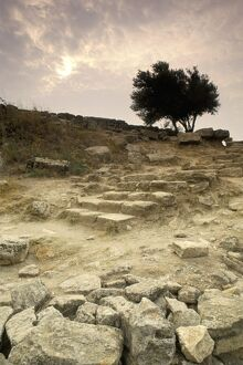Stone carriage ramp from Homeric period