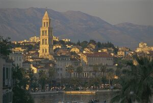Town skyline, Split, Croatia, Europe
