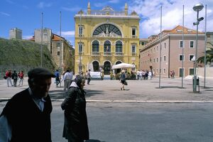 The town of Split, Dalmatian coast, Croatia, Adriatic, Europe