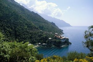View of the holy Athos
