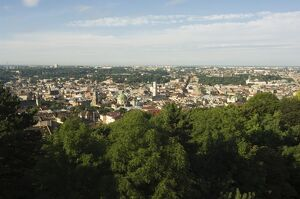 View of Old Town from Castle Hill