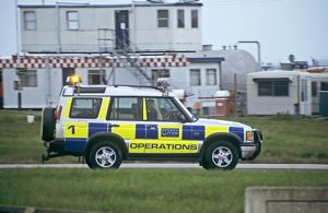 Luton Airport airfield operations vehicle