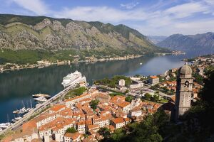 Kotor, Bay of Kotorska, Adriatic coast, Montenegro