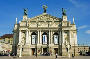 The Lviv Theater of Opera and Ballet, named after I