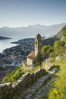 Montenegro, Kotor Bay, Kotor, Gospa od zdravlja Church