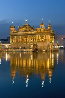 Sikh Golden Temple of Amritsar, Punjab, India