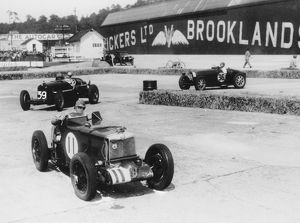 British Empire Trophy race at Brooklands 1935