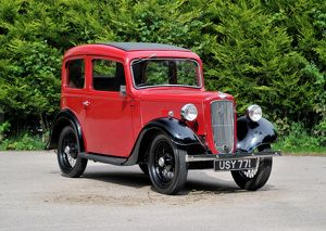 Austin Seven Ruby 1937 Red