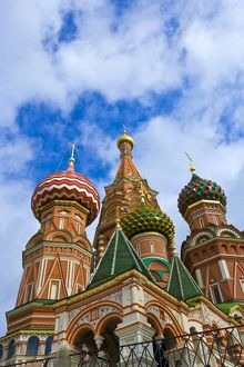 Russia, Moscow, Red Square, St. Basil's Cathedral
