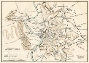 Map of ancient Rome
