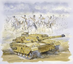 Royal Scots Dragoon Guards & Gulf War Tank