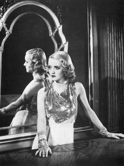 Bette Davis (1908-1989) as an infatuated 'flapper' in The Rich Are Always With Us