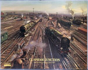 'Clapham Junction', BR (SR) poster, 1962.