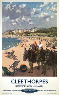 'Cleethorpes', BR poster, 1948-1965.