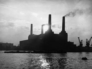 Battersea Power Station Silhouette
