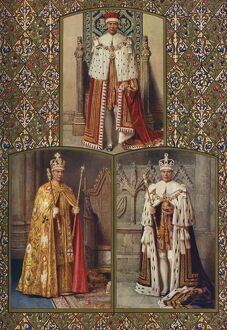 The coronation of King George VI: 'King's Corocation Robes'