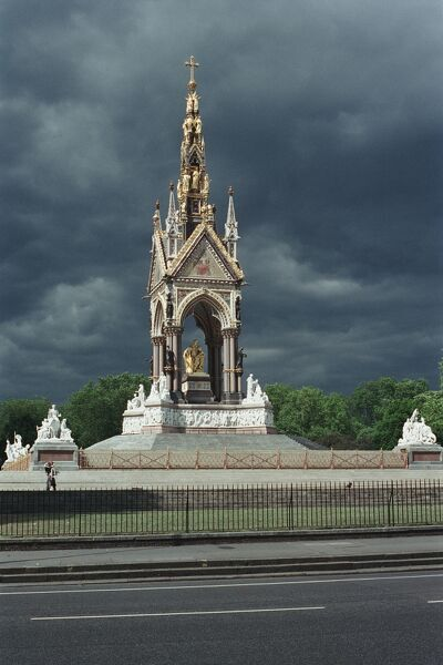 Prince Consort National Memorial, 1862 to 1875. Hyde Park, London. IoE 412963