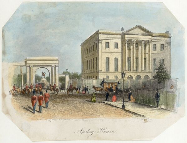 APSLEY HOUSE, Piccadilly, Hyde Park Corner, London