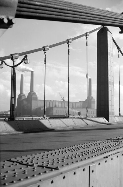 BATTERSEA POWER STATION FROM CHELSEA BRIDGE, London