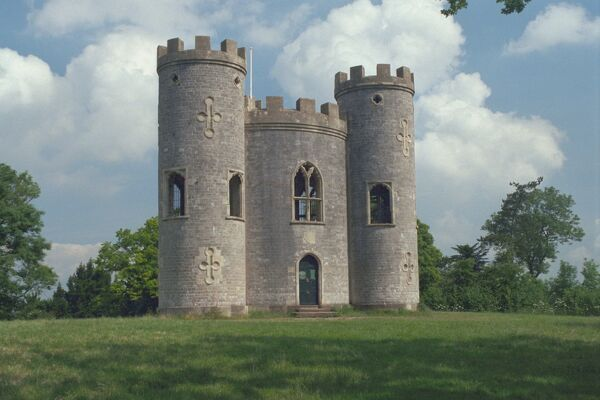 Sham Castle c1766, set within the magnificent Blaise Estate, Bristol. IoE 379730