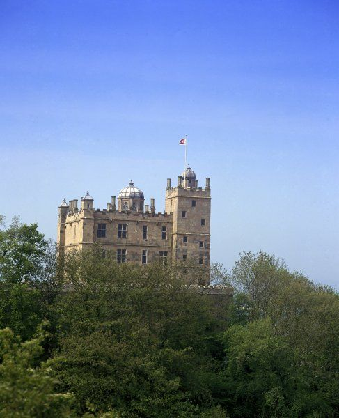 BOLSOVER CASTLE, Derbyshire. View of the Little Castle from the East