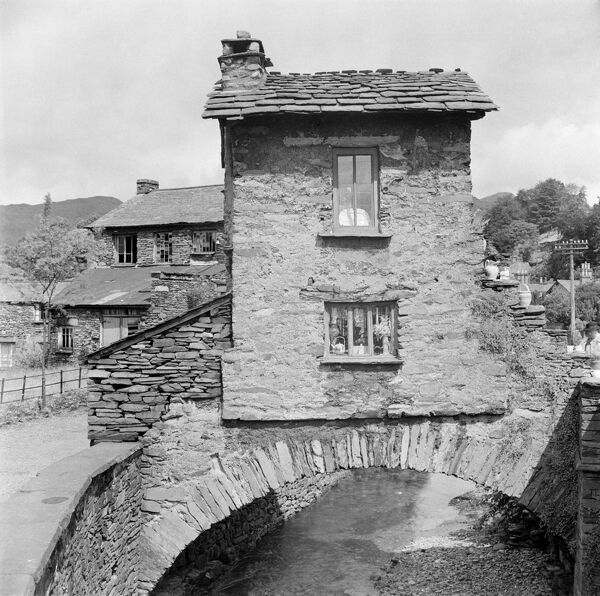 BRIDGE HOUSE, Ambleside, Cumbria. Bridge House was built over the Stock Ghyll to avoid land tax