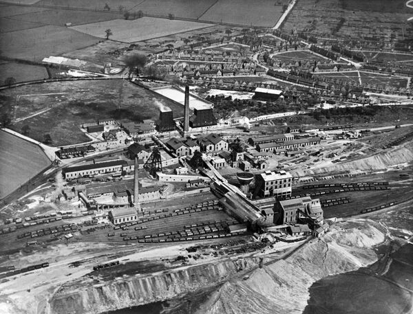 BRODSWORTH MAIN COLLIERY, Adwick-le-Street, South Yorkshire