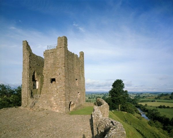 BROUGH CASTLE, Cumbria. General view of the keep which dates from c.1200
