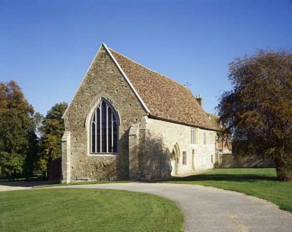 BUSHMEAD PRIORY, Bedfordshire. View from the South-West