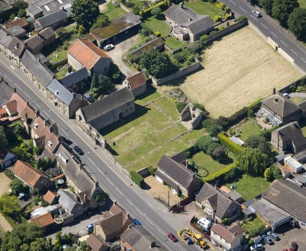 CHICHELE COLLEGE, Northamptonshire. Aerial view