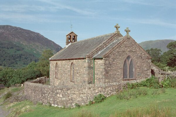 Parish Church in the picturesque setting of Buttermere, Cumbria. IoE 72162