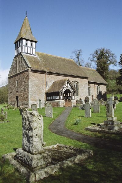 C12 parish church, Herefordshire. IoE 153088