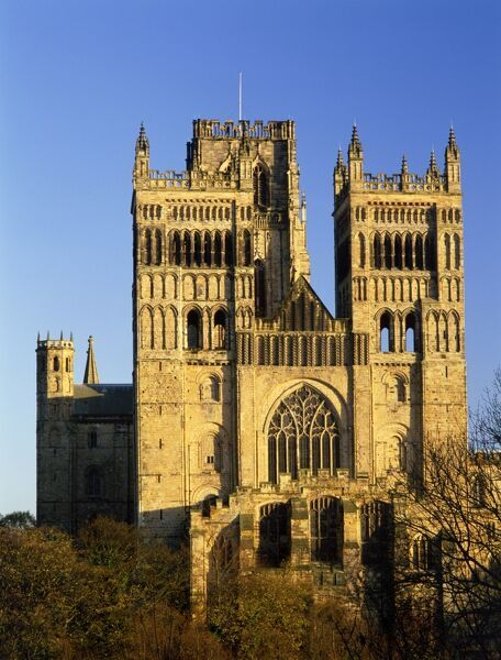 DURHAM CATHEDRAL, Durham. Built between 1093 & 1274. Norman structure