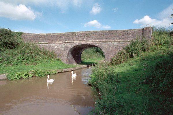 Accommodatiion bridge on the Middlewick Branch Canal at SJ 670 599, Cheshire. IoE 351223