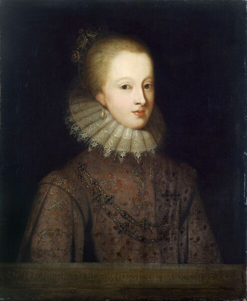 "KENWOOD HOUSE, SUFFOLK COLLECTION, London. ""Elizabeth Cecil Countess of Berkshire"" after Paul VAN SOMER the Younger (c.1649-94)"