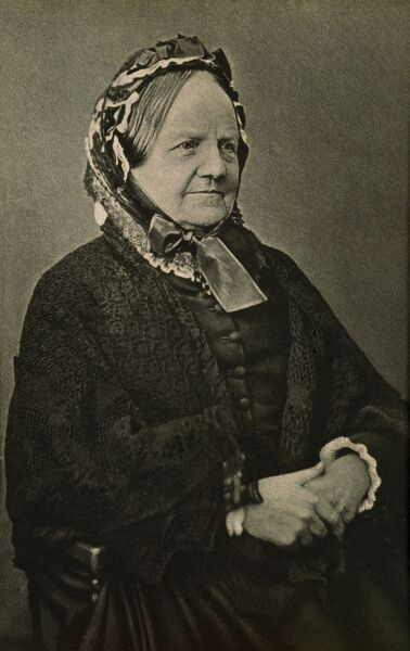 DOWN HOUSE, Kent. Photograph of Emma Darwin (1808-1896)