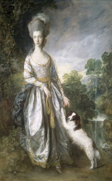 "KENWOOD HOUSE, THE IVEAGH BEQUEST, London. "" Lady Brisco "" 1776 by Thomas Gainsborough (1727-1788)"