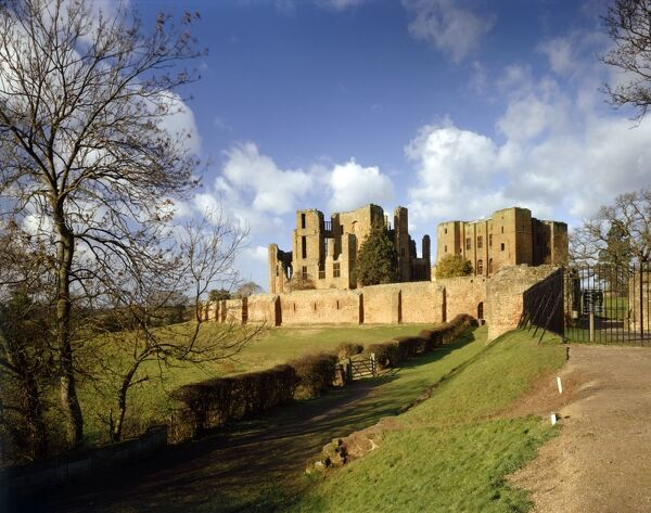 KENILWORTH CASTLE, Warwickshire. General view