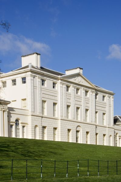 KENWOOD HOUSE, Hampstead, London. Exterior view. South elevation of Kenwood House