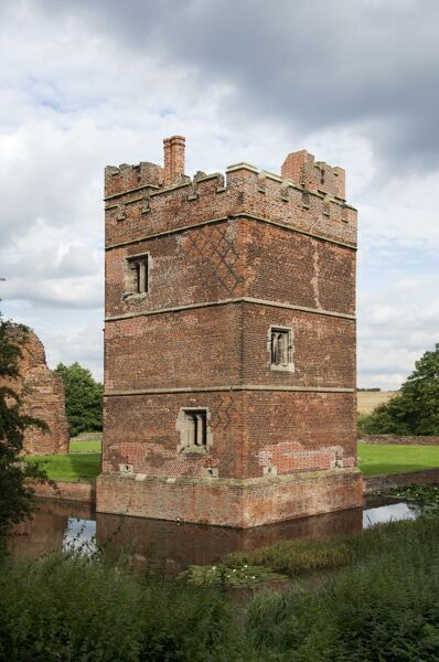 KIRBY MUXLOE CASTLE, Leicestershire. The West Tower